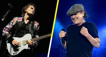 Mira a Muse y Brian Johnson de AC/DC interpretar