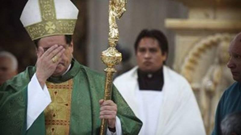 El cardenal Norberto Rivera