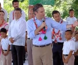 Aurelio Nuño, secretario de Educación Pública.