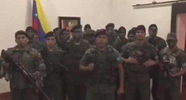 Atacan base militar venezolana, grupo armado llama a desconocer gobierno de Maduro