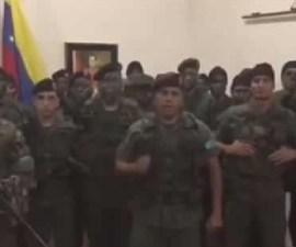 Grupo armado llama a desconocer gobierno de Nicolás Maduro