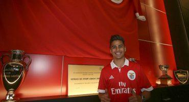 El mexicano Paolo Medina jugará con el Benfica de Portugal
