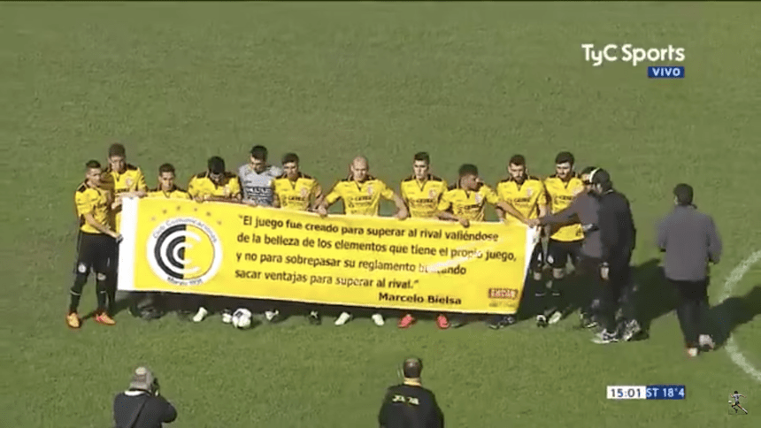 Increíble: En Argentina juegan partido de cinco minutos para ascender