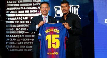 La tienda del Barcelona no habría vendido una sola playera de Paulinho