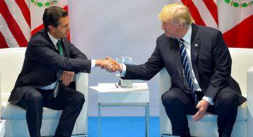 Casa Blanca desmiente llamada entre Peña y Trump