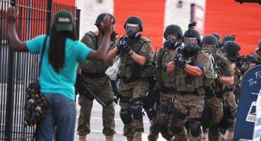 Otra de Trump: planea que policía vuelva a armarse con equipo militar