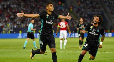 Bailando 'Merengue': El Real Madrid derrota al Manchester United y se lleva la Supercopa