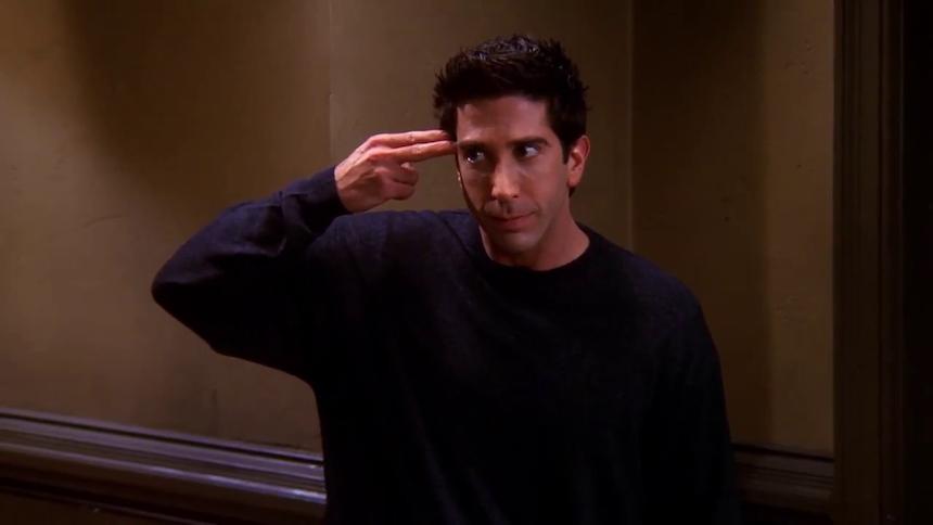 ¿Es Ross de la serie Friends el peor tipo del mundo? Eso dice una teoría