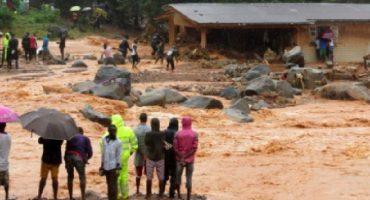 Lluvias en Sierra Leona