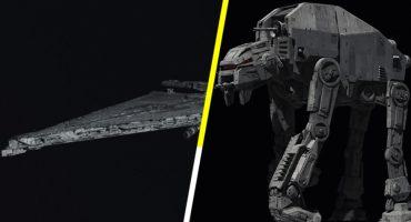 ¡Salen a la luz dos naves nuevas para The Last Jedi!
