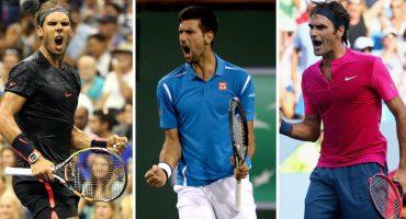 ¡Sorpresa! Nadal, Djokovic y Federer podrían jugar en el Abierto de Acapulco