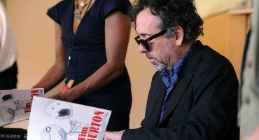 Sólo 500 personas podrán tener el autógrafo de Tim Burton en diciembre