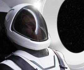 Elon Musk - Traje espacial de SpaceX