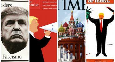 Trump le da aire y encauza a extremistas de derecha: la nueva portada del New Yorker