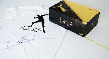 Te regalamos los spikes y una playera firmada por Usain Bolt!