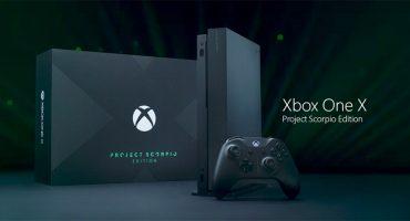 Microsoft nos presume su Xbox One X Scorpio Edition