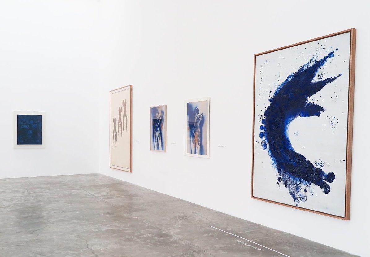 exposición de Yves Klein en el MUAC