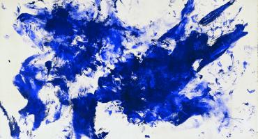 El azul adquiere otro significado en el MUAC gracias a la obra de Yves Klein
