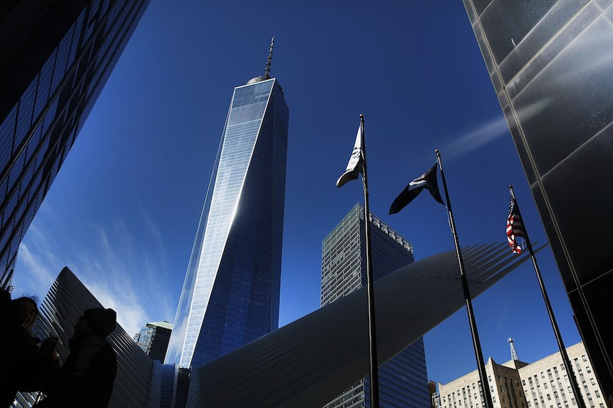 One World Trade Center - Perspectiva exterior