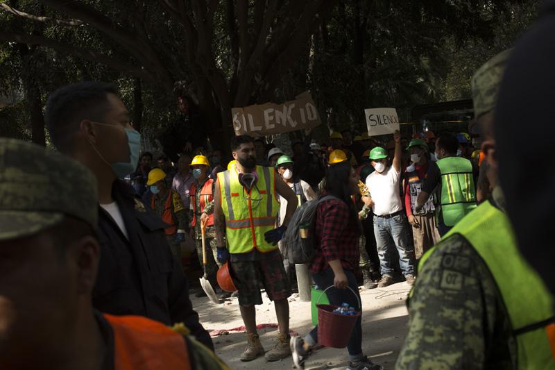 Brigadas Rescate Sismo Mexico