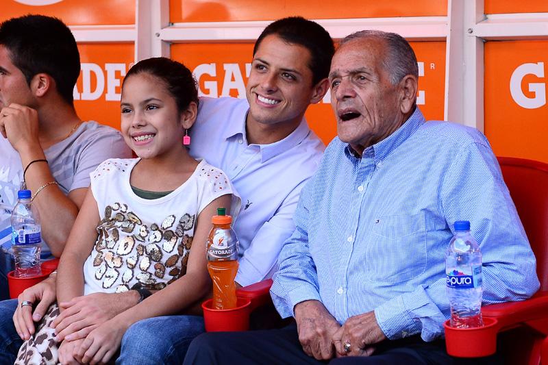 Chicharito Hernandez Tomas Balcazar