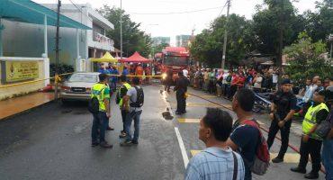 Incendio en una escuela de Kuala Lumpur deja 25 muertos