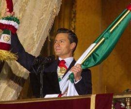 Peña Nieto dando el grito