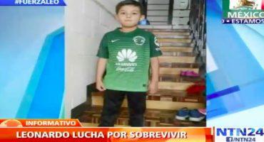 Futbolistas envían aliento al niño Leo Farías… Sólo faltas tú, Messi