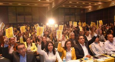El PRD irá en alianza en 2018, aprueba conformar el Frente Amplio Democrático