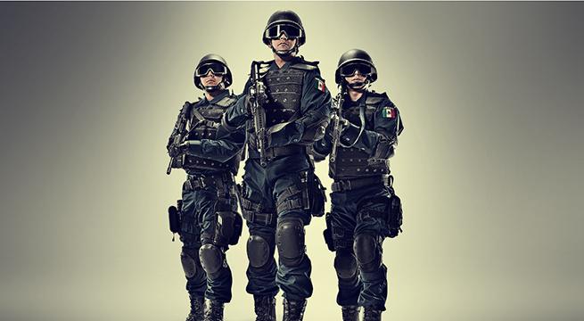 Policia federal México