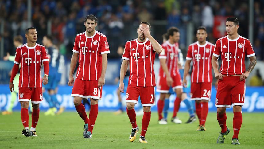 El Bayern Múnich sufre su primera derrota de la temporada