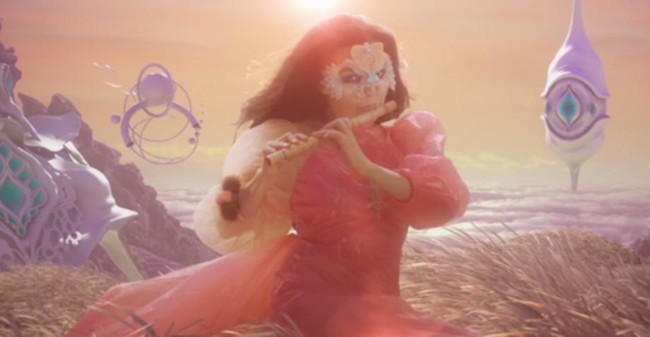 Björk planea lanzar una versión en vivo de 'Utopia' más mágica