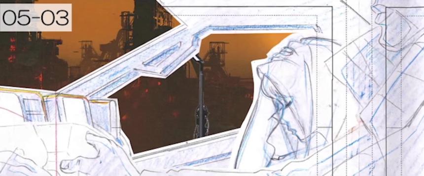 Corto de Blade Runner 2049 - Bocetos