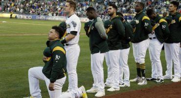 Bruce Maxwell: el primer jugador de la MLB en arrodillarse durante el himno