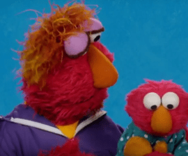 Elmo tiene miedo