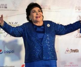 Carmen Salinas ofrece su teoría sobre el sismo