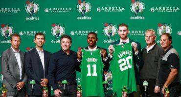El gerente de los Celtics explicó por qué hizo el cambio por Kyrie Irving