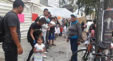 comunidad otomí afectada por el sismo