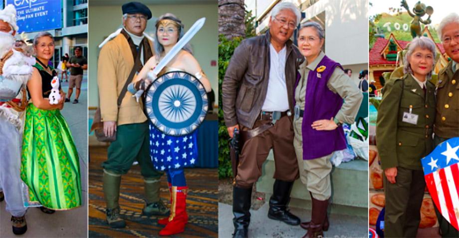 Ternuras: esta pareja de casados son los reyes del cosplay