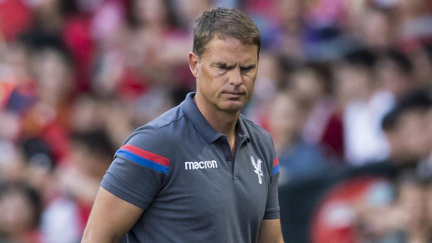 Cayó el primer técnico de la Premier: Frank de Boer despedido