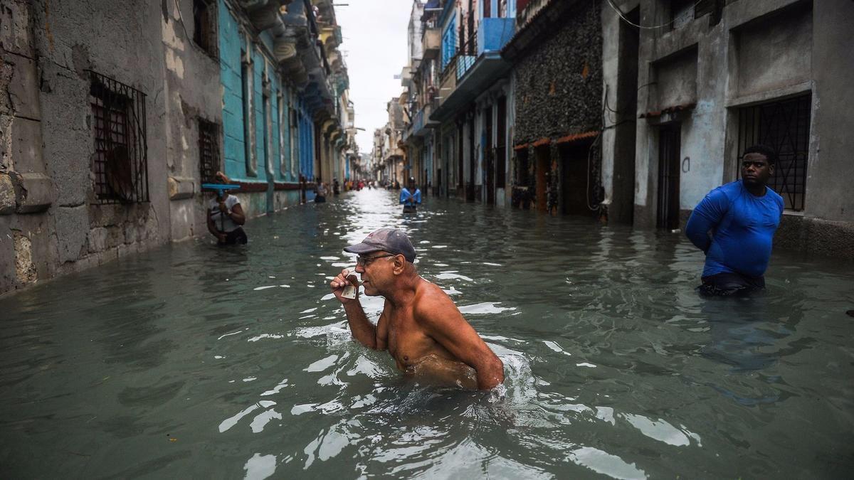 Cuba inundada después del paso de Irma