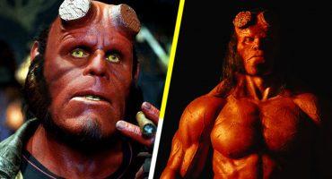 Así lucirá David Harbour como el diablo rojo en Hellboy