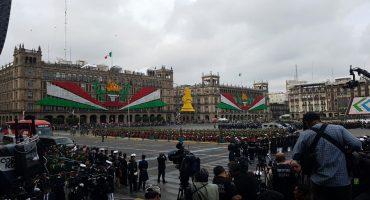 Así se llevó a cabo el tradicional desfile militar del 16 de septiembre