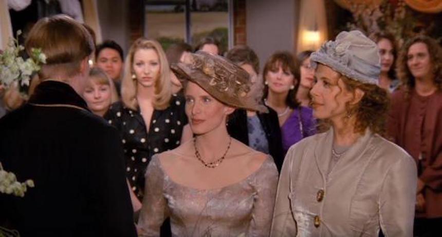 Friends - Escena de una boda entre mujeres