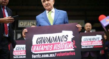Pedro Ferriz de Con, pre candidato independiente a la presidencia