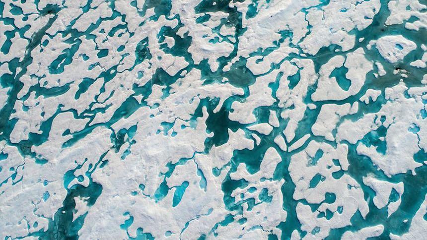 El hielo marino más fuerte del Ártico se rompe a causa de cambio climático