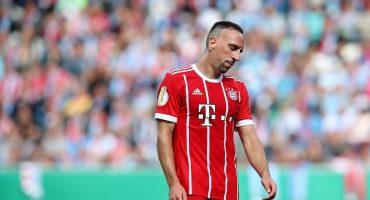 Sir Alex Fergurson rechazó a Franck Ribéry en el 2006