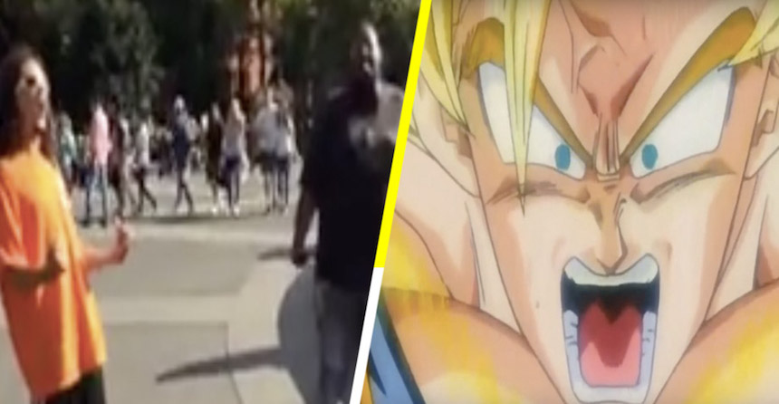 Dragon Ball Z - Gritos en Nueva York