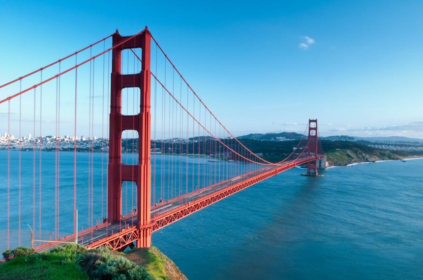 Los puentes más bellos - Golden Gate