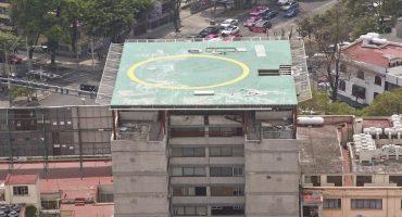 Helipuerto ilegal en la Hipódromo Condesa